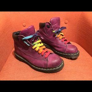 Vintage Purple Doc Martins